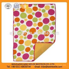 impresión de toalla de té de microfibra de patrón de punto personalizado barato