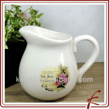 ceramic water pitcher