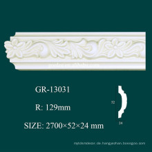 Modernes Design Deckendekoration PU Cornice Molding