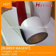 Fridge thin rubber magnets with self adhesive