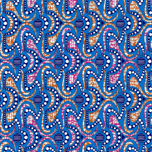 cotton wax fabrics Java Design Colours 24x24 72x60