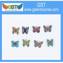 Plastic Detailed Toy Butterflies 1.5 inches