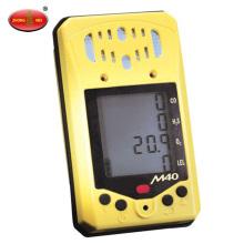Detector de monitor de gás múltiplo CO H2S O2 LEL