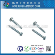 Taiwan Self Tapper Pan Head Screw M2.8X12.7 Phillips Slotted Combo Tapping Screw