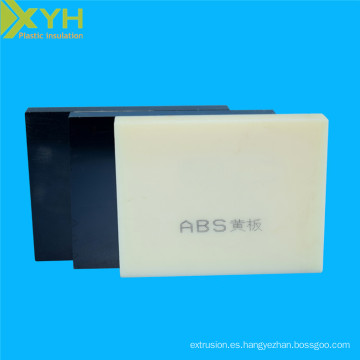 Precio de la hoja del ABS del color de la materia prima doble