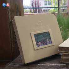 High Quality Hardcover A4 Size DIY Photo Albums (XF16K-01)