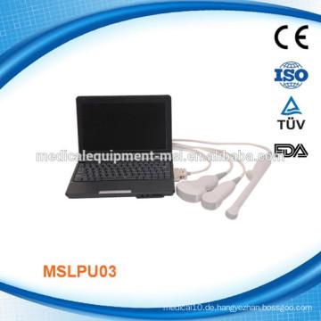 Mensch & Tier verwenden Tragbare Ultraschallmaschine MSLPU03-M