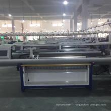 2017 double chandail de double système de chariot de QL-52C faisant la machine à tricoter plate