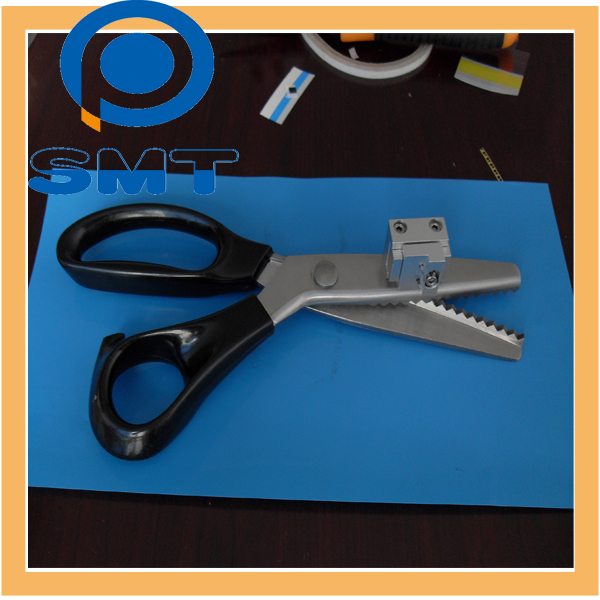smd splice tool V type location scissor with gear
