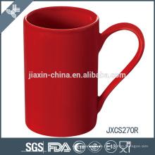 neue keramische Kaffeetasse, farbiger Porzellantasse