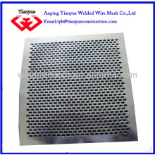 low carbon steel carbon steel punched/perforated metal sheet