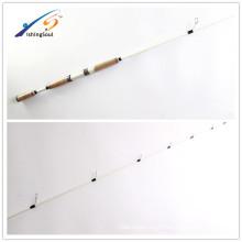 Aparejos de pesca del agua salada de China barra de giro al por mayor nana de la barra de pesca del carbono