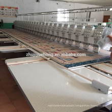 6 needles 25 heads flat embroidery machine for sale