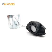 Dispositifs de serrage de tension / suspension de câble de dérivation de fibre de type FTTH à poisson