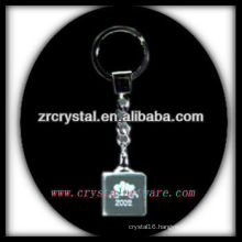 laser etched crystal keychain and blank crystal G060