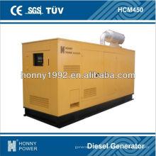 320kW 400kVA 60Hz gerador diesel com controlador Deif
