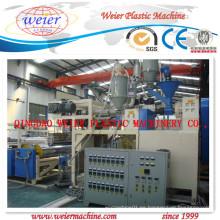1200-1800mm PVC se aferran película línea (Winder de doble eje)
