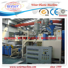 1200-1800mm PVC Cling Film Line (Double-shaft Winder)