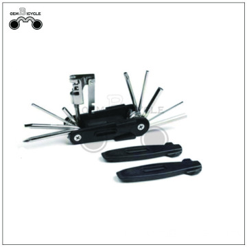 Black bike multi tool kits de reparación de mano