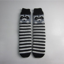Stripade Fox Jacquard Floor Socks
