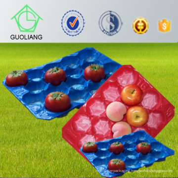 Accept Custom Order 23X38cm, 41.9X33cm, 39X59cm Frost Surface Tomato Vegetable Tray Plastic PP Tray for Food