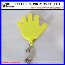 Spezielle Handform Einziehbare Abzeichenhalter (EP-BH112-118)