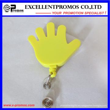 Especial de forma de mano Retractable Badge titulares (EP-BH112-118)