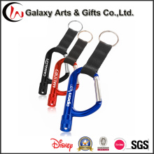 Promotion Fashion Short Carabiner LED Light Keychain