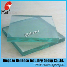 Feuille de verre de flotteur clair de certificat de Ce et d'OIN 4mm