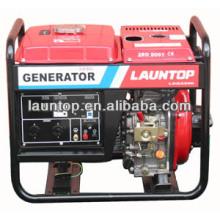 Воздухоохлаждаемый 4-тактный портативный дизельный генераторный агрегат 5.5кВт