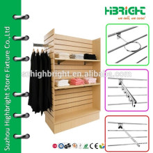 Custom Luxury Wooden Scarf Shop Display Rack