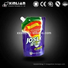 Eco-friendly flexible big bag pour sachet d'emballage alimentaire liquide
