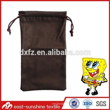 LOGO impreso bolsas de microfibra de teléfono con logotipo en relieve, logotipo personalizado impreso micrfofiber bolsa