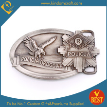 2015 Custom Police Antique Silver Belt Buckle (KD-0119)