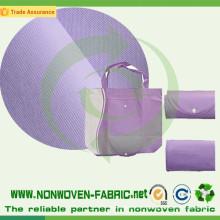 Tissu non tissé par Spundbonded de 100% pp pour des sacs à provisions