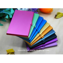 Алюминиевый корпус для визитных карточек, Рекламный держатель металлических карт