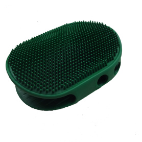 massage brush tool dog bath