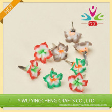 craft flower plastic brads scrapbooking brds for decoration