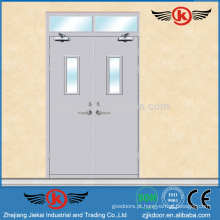 JK-F9009 porta de fogo ul / Porta à prova de fogo de aço / porta de vidro com classificação de fogo