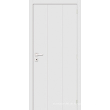 Simple Style White Grundierte Flush Panel Zimmertür Holztür