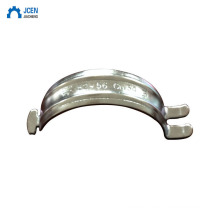 Metal Double Pipe Fitting Saddle Clamp