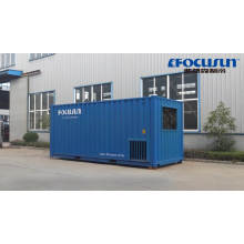 2020 high efficient 3 ton direct system containerized block ice machine of hot sale