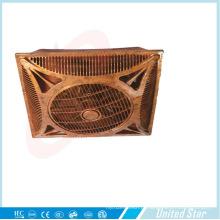 14''wooden branco cor refrigerador elétrico de plástico ventilador de teto