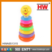 2015 Hot Selling 7 grade plastic circle ring toy for child