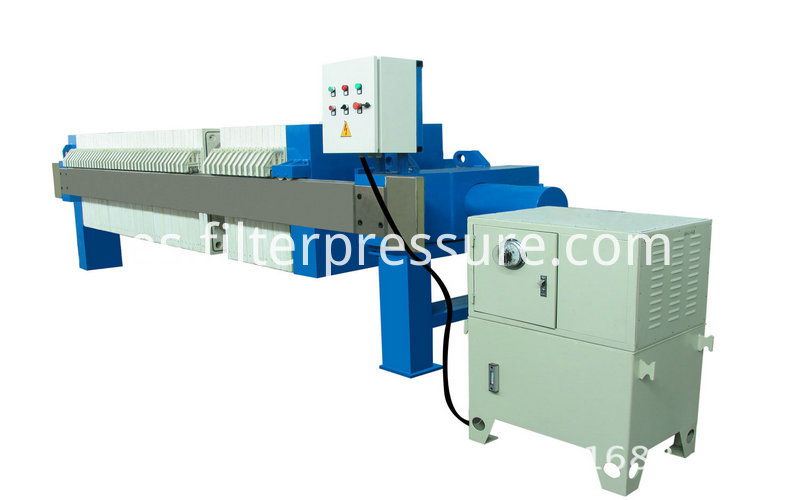 Starch Cast Iron Filter Press 1