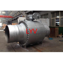 Actuated Forged API ISO Big Size Fully Welded Ball Valves for Gas and Water Use