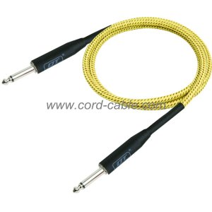 DBS Series Instrument Guitar Cable Jack to Jack Braided Jacket