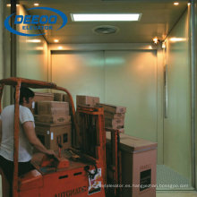 Big Space Freight Cargo Elevator para productos
