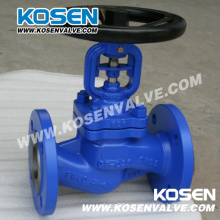 DIN Bellow Seal Globe Valves (WJ41)