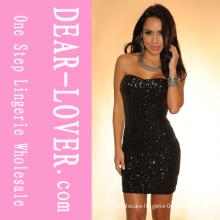 2014 New Mini Sequin Dress